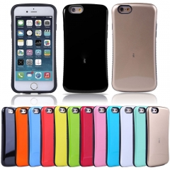 For iPhone 5S 6S 7 8 Plus X TPU Hard Heavy Duty Shockproof Bumper Cover Case Skin