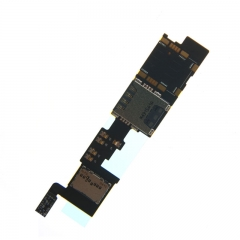 For Samsung Galaxy Note 4 N910F Sim Card Slot Holder With Flex Cable