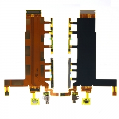For Sony Z3 4G D6633 Double Sim Card Power Switch On / OFF Button Flex Cable