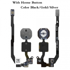 For iPhone 5S Keypad KeyBoard Home Button Key + Flex Cable