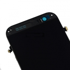 For HTC One M8S LCD Display Touch Screen Digitizer Panel Glass Frame Assembly Black