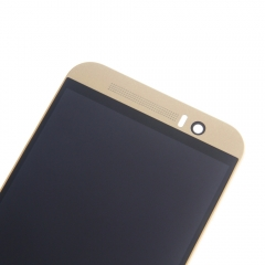 For HTC One M9 M9U M9W LCD Display Touch Screen Digitizer Panel Glass Frame Assembly Gold