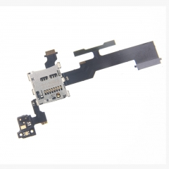 For HTC One M8 831C M S Y G Memory Card Reader Tray Slot Holder Volume Proximity Light Sensor Flex Cable