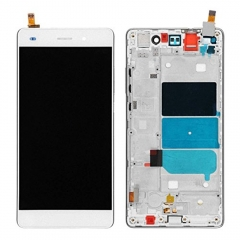 "For Huawei Ascend P8 Lite 5.0"" LCD Display Touch Screen Digitizer Panel Glass Frame Assembly White"