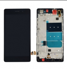 "For Huawei Ascend P8 Lite 5.0"" LCD Display Touch Screen Digitizer Panel Glass Frame Assembly Black"