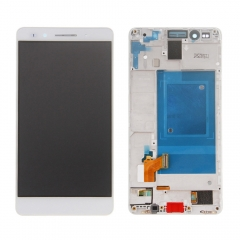 For Huawei Honor 7 LCD Display Touch Screen Digitizer Panel Glass Frame Assembly White