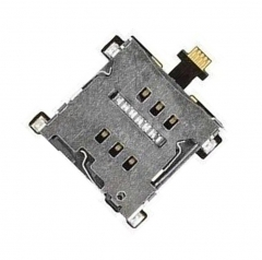 For HTC One 801E M7 Sim Card Memory Reader Tray Slot Holder Flex Cable