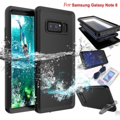 For Samsung Galaxy Note 8 S8 Plus Full Case Cover Water Shockproof Dirtproof