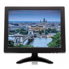 "10"" LED Monitor BNC VGA AV HDMI Video Input for PC CCTV Camera"