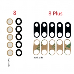 For iPhone 8 4.7' 8 Plus 5.5' Rear Back Camera Lens With Adhesive