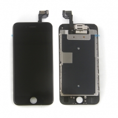 Full Assembly LCD Display Screen Touch Digitizer With Front Camera Ear Speaker Light Sensor +Repair Tools +Protector For iPhone 6S Black