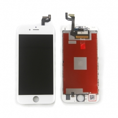 LCD Display Screen Touch Digitizer Ear Mesh Camera Ring Assembly +Repair Tools +Protector For iPhone 6S White
