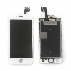 Full Assembly LCD Display Screen Touch Digitizer With Front Camera Ear Speaker Light Sensor +Repair Tools +Protector For iPhone 6S White