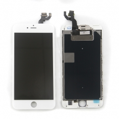 Full Assembly LCD Display Screen Touch Digitizer With Front Camera Ear Speaker Light Sensor +Repair Tools +Protector For iPhone 6S Plus White
