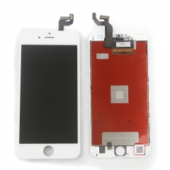 LCD Display Screen Touch Digitizer Ear Mesh Camera Ring Assembly +Repair Tools +Protector For iPhone 6S Plus White