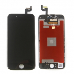 LCD Display Screen Touch Digitizer Ear Mesh Camera Ring Assembly +Repair Tools +Protector For iPhone 6S Black