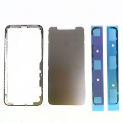For iPhone X LCD Middle Frame Touch Screen Front Bezel Housing Adhesive Replacement