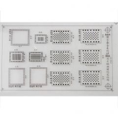 8pcs Set efix IP BGA Stencil for Fix Repair iPhone iPad NAND Flash Power Touch IC Chip Reballing Logic Board