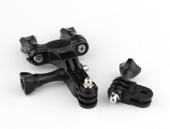 Bike Motorcycle Handlebar Seatpost Pole Mount Holder for Go-Pro Hero 4 3 3+ 2 1