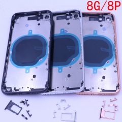"Metal Back Cover Battery Housing Door Replacement Parts For Phone 8 4.7""8 PLUS 5.5"""