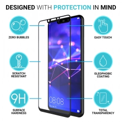 For Huawei Screen Protector Tempered Glass Thin 100% Full Protection